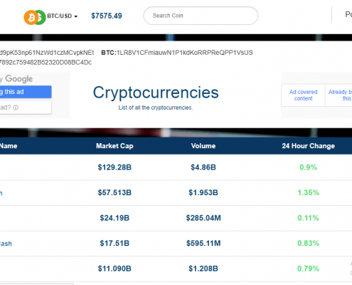 coin market price app screenshot 1