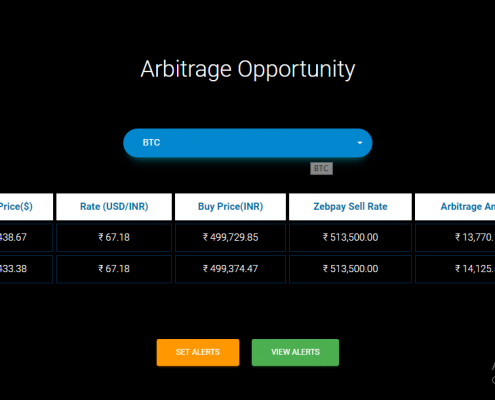 Exchanges - Arbitrage Opportunity